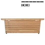 IKIKI(イキキ)シェルフコンテナMサイズオーク天然木材木製機能コンテナ組み立て折りたたみノックダウン方式除湿効果通気性収納アウトドアキャンプ