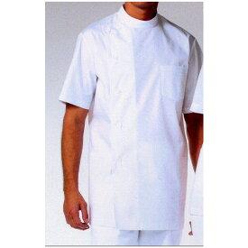 白衣 132-30 男性用 ドクター ケーシー 半袖 S〜6L 診察衣 医療