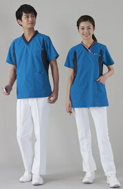 アプロンアパレル(apron)401-80AP メンズスラックス股下フリー(未加工)S〜5L医療ユニフォーム ナースウェア