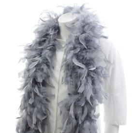 キャンドルマラボー (ライトグレイ) 豊富な羽根を利用