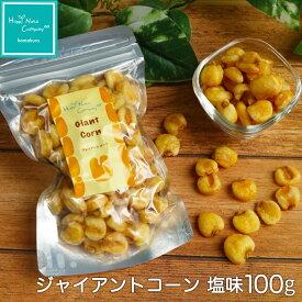 ハッピーナッツカンパニー ジャイアントコーン 塩味 100g