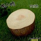 天然木の台座ディスプレイスタンドスギの木切り株約11cm厚め木製MD-019杉の木皮付き日本製あす楽宅配便のみ