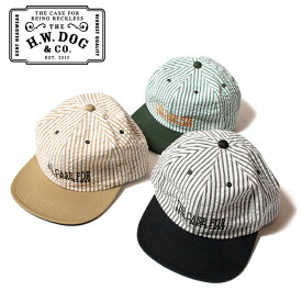 THE H.W.DOG&CO. SEERSUCKER CAP ドッグアンドコー シアサッカー キャップ D-00394