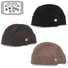 THEH.W.DOG&CO.TIMKNITCAP20AWドッグアンドコーニットキャップD-00468日本製