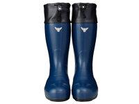 AC071(ネイビー)AC081(イエロー)セーフティブーツ#800安全長靴安全靴ゴム長靴作業長靴長靴フード付保温防寒除雪排雪日本製