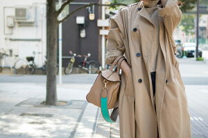 きれいめバッグもこなれカジュアル化。本革or上質合皮トートバッグ*2種類のショルダーストラップ付き【Foggi】フォッジ