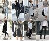 Ladies ' leather shoulder bag