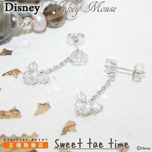 ディズニー ピアス Disney ミッキーマウス シル...
