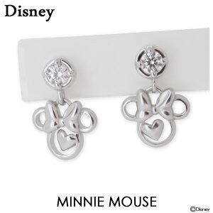 ディズニー ピアス Disney ミニーマウス シルバ...