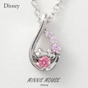 ディズニー ネックレス Disney ミニーマウス ド...