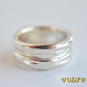 ウズ UZU 指輪 レディース シルバー リング バレル仕上げ RI-435【ni】【ギフト】