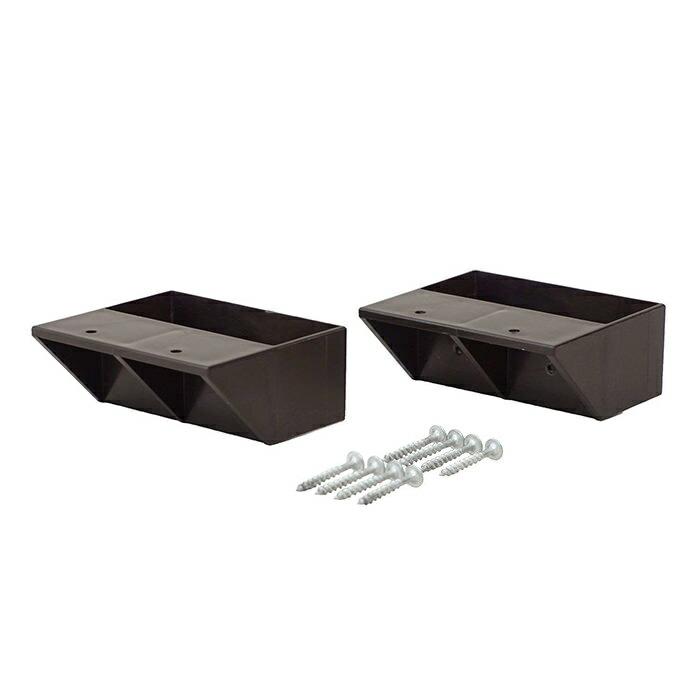 【公式】 平安伸銅工業 LABRICO ラブリコ DIY収納パーツ 2×4棚受シングル ブロンズ DXB-2