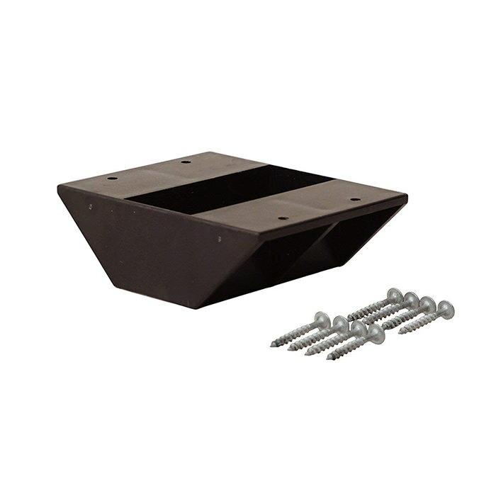 【公式】 平安伸銅工業 LABRICO ラブリコ DIY収納パーツ 2×4棚受ダブル ブロンズ DXB-3