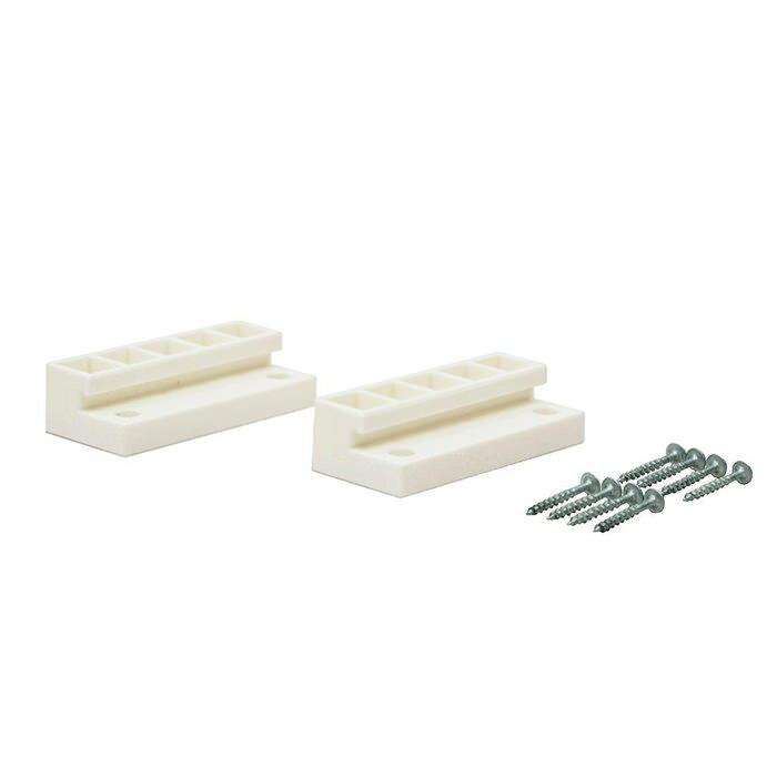 【公式】 平安伸銅工業 LABRICO ラブリコ DIY収納パーツ 2×4ジョイント オフホワイト DXO-4