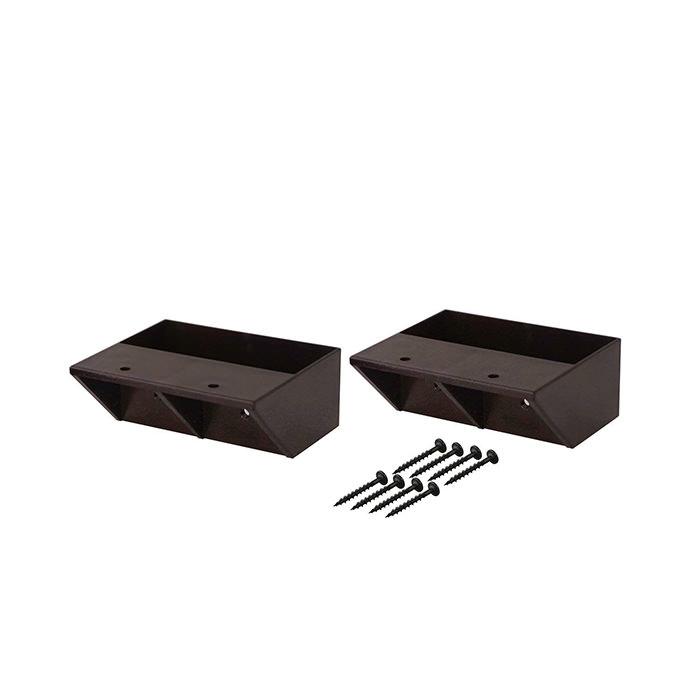 【公式】 平安伸銅工業 LABRICO ラブリコ STAPLER FIX シリーズ 2×4 棚受シングル ブロンズ DXS-2