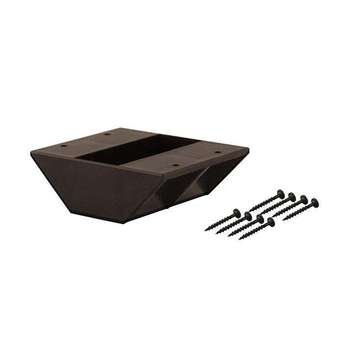 【公式】 平安伸銅工業 LABRICO ラブリコ STAPLER FIX シリーズ 2×4 棚受ダブル ブロンズ DXS-3