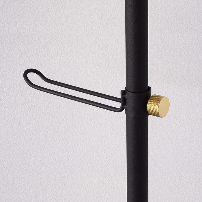 【公式】 平安伸銅工業 DRAW A LINE ドローアライン Hook B ブラック 縦専用 D-HB-BK