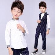 ★男の子格好いいフォマールシャツ・無地プチハイネックシャツ