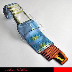 工業製品の電気部品をモデルにしたボルトのデザインしたネクタイです。☆立体裁断ネクタイ/面白いネクタイ/工業部品/工場/