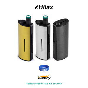 【メール便送料無料】電子タバコ スターターキット Ploom TECH プルームテック 互換機 Kamry Ploobox Plus Kit 650mAh カムリ プルーボックス プラス キット VAPE ベイプ Hilax