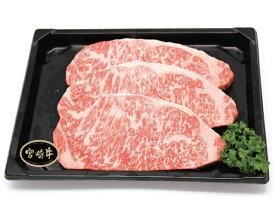 【送料無料】【冷凍】宮崎牛サーロインステーキ