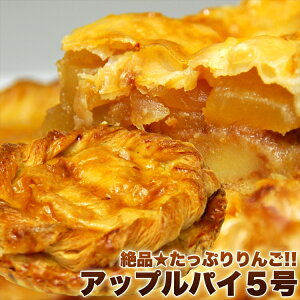 絶品★たっぷりりんご!!アップルパイ5号/ケーキ/洋菓子/冷凍A/