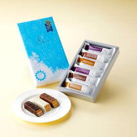 石屋製菓 美冬 6個入 北海道 お土産 ギフト ミルフィーユ チョコレート