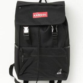 【KANGOL BAG/カンゴール】 ボックス ロゴ フラップ リュック バックパック 機能性 メンズ レディース ユニセックス 通勤 通学 旅行 PC ビジネス 学生 高校生 リュックサック バッグ 大人 ブランド かわいい おしゃれカジュアル 人気 アウトドア