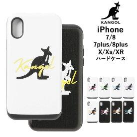 送料無料 ゆうパケット KANGOL カンゴールiPhoneケース iphone ケース iPhone7 iPhone8 iPhoneX iPhoneXs ハードケース iPhone7Plus iPhone8Plus Plus スマホケース ハードカバー ハード カバー アイフォン バッグイン
