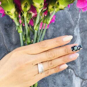送料無料【M SELECT】メタルリング メタル リング 指輪 ワイド デザイン シンプル ごつめ 太め 幅広 シルバー ボリューム デイリー 銀 マット つや消し 真鍮 プレゼント ギフト ジュエリー レデ