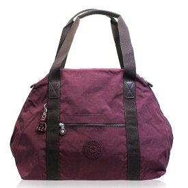 キプリング Kipling バッグ トートバッグ ボストン レディース 軽量 トート ポケット 使いやすい 旅行 機能的 買い物 お出かけ カバン プラム 便利 大きめ ボストン 大容量