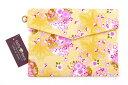 御朱印帳 袋(ポーチ)/桜かのこ(金色) ケース カバー バッグ 巾着