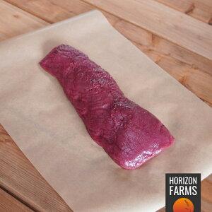 ニュージーランド産 鹿肉 ジビエ ベニソン ロース ステーキ用 300g 高品質 ホルモン剤不使用 抗生物質不使用 食用 ロース肉 メダリオン 背ロース
