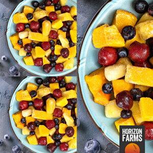 有機 JAS 認証 オーガニック 冷凍 トロピカルフルーツ ミックス 3kg 砂糖不使用 マンゴー パイナップル ブルーベリー スイートダークチェリー 入り