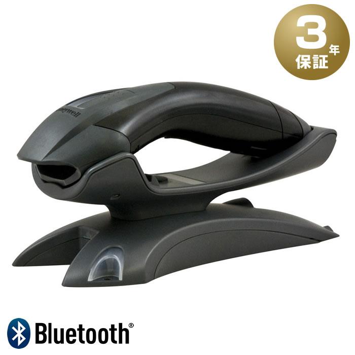 【QUOカード500A】 コードレスバーコードリーダー Voyager 1202g (黒) + 充電無線クレードルセット(USB) 【3年保証】 充電池付 Bluetooth通信 Honeywell ハネウェル