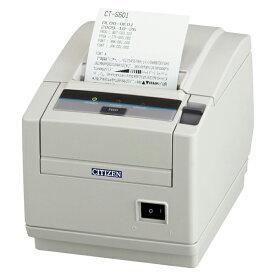 感熱紙レシートプリンター USB接続I 白 用紙幅:3インチ(80mm対応) 2年保証 ペーパー上出し CT-S601IIシリーズ サーマルプリンター シチズン システムズ