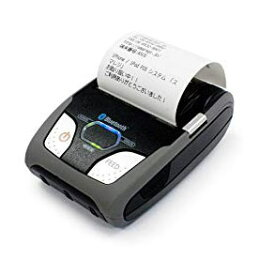 POSレジソフト対応 モバイルプリンター SM-S210i2-DB40-JP (カードリーダー無) Bluetooth搭載 RS232C接続 <スター精密> レシート印刷(用紙幅58mm)Square, Coiney, 楽天SMART PAY, AirREGI, スマレジ