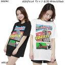 【SALE】GODZILLA Tシャツ 全2色(ホワイト・ブラック)サザック ゴジラ メンズ レディース