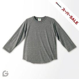 4.4ozトライブレンド ラグラン3/4スリーブTシャツ 1092-01【SS2003】