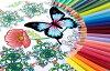 对于成年人 uni 铅笔 888 号 36 颜色设置 Coloriage /coloriages 微妙的颜色表示