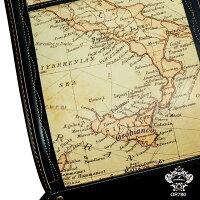 カブセ裏に古地図がプリントされています。