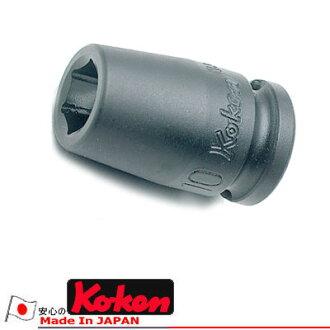 "Ko-ken 13400M-12 3/8""sq. 冲击插口12mm KO-KEN Koken/山下工研究室"