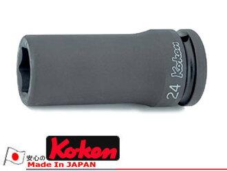 "Ko-ken 16300M-36 3/4""(19mm)sq. Impact 6-point Deep Socket 36mm"