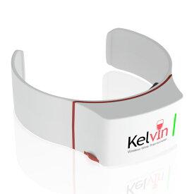Kelvin (ケルビン) 英国発ワインの温度計 iPhone Android アプリ連動でワインの温度管理 クリップ型デバイス KELVIN-K2P1