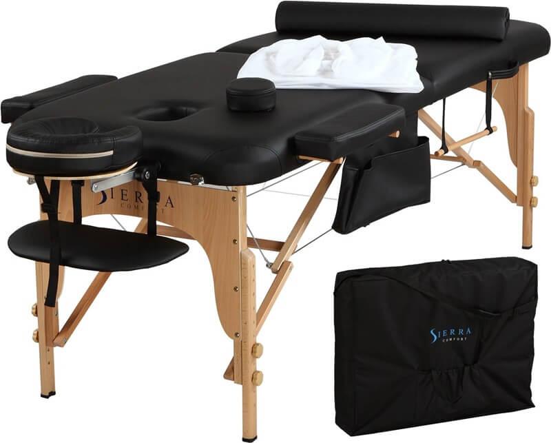 マッサージ用ベッド エステベッド 携帯 ポータブル マッサージテーブル Sierra Comfort All-Inclusive Portable Massage Table
