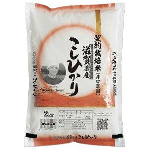 コシヒカリ 2kg 送料無料 滋賀県 令和元年産 (米/白米/特a/特a米 2キロ) 食べ比べサイズの お米