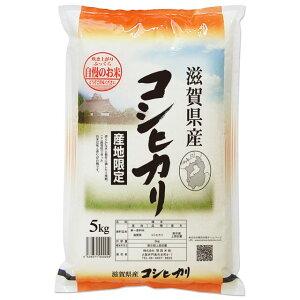 (玄米) コシヒカリ 5kg 送料無料 滋賀県 令和2年産 (5キロ) [お米 の ギフト 内祝い お祝い お返し に 熨斗(のし)名入れ 可]