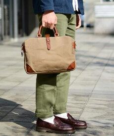 SILVER LAKE CLUB/シルバーレイククラブ ヘリンボーン ビジネス 手提げ鞄 A4ジャスト セットアップ対応