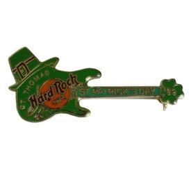 【中古】 Hard Rock CAFE ハードロックカフェ ギター ST. THOMAS ブローチ ピン バッジ コレクター 【異国屋】