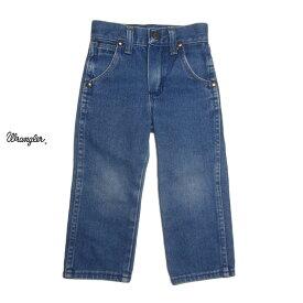【中古】Wrangler デニムパンツ ラングラー キッズデニム ジーンズ 3歳 アメリカ古着 子供服 【異国屋】